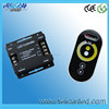 LED RF CT touch dimmer controller DC12-24V input, 6A*2CH output Rf Touch Remote Color temperature Controller