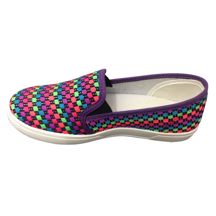 Weave colorful shoes for women National wind shoes