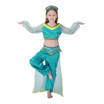 425c655da キッズ女の子王女ジャスミンインドダンス衣装ドレスアップダンス着用 ...