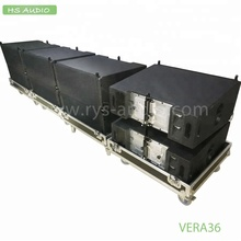 3 way VERA 36 line array speakers pro sound system made in hs audio