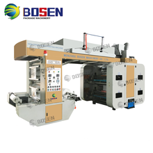High Speed paper roll to roll flexo printing machine