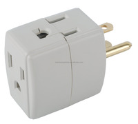 Electrical Power Outlet Current Power Tap 3 Way UL power outlet