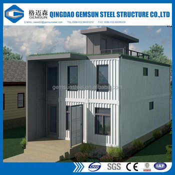 73m2 Prefabricatd Single-storey Simple Container House In Ghana ...