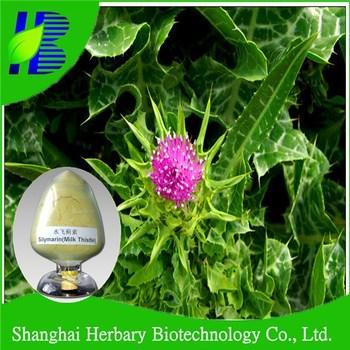 Natural herbal raw material milk thistle extract silymarin dab10 uv80%