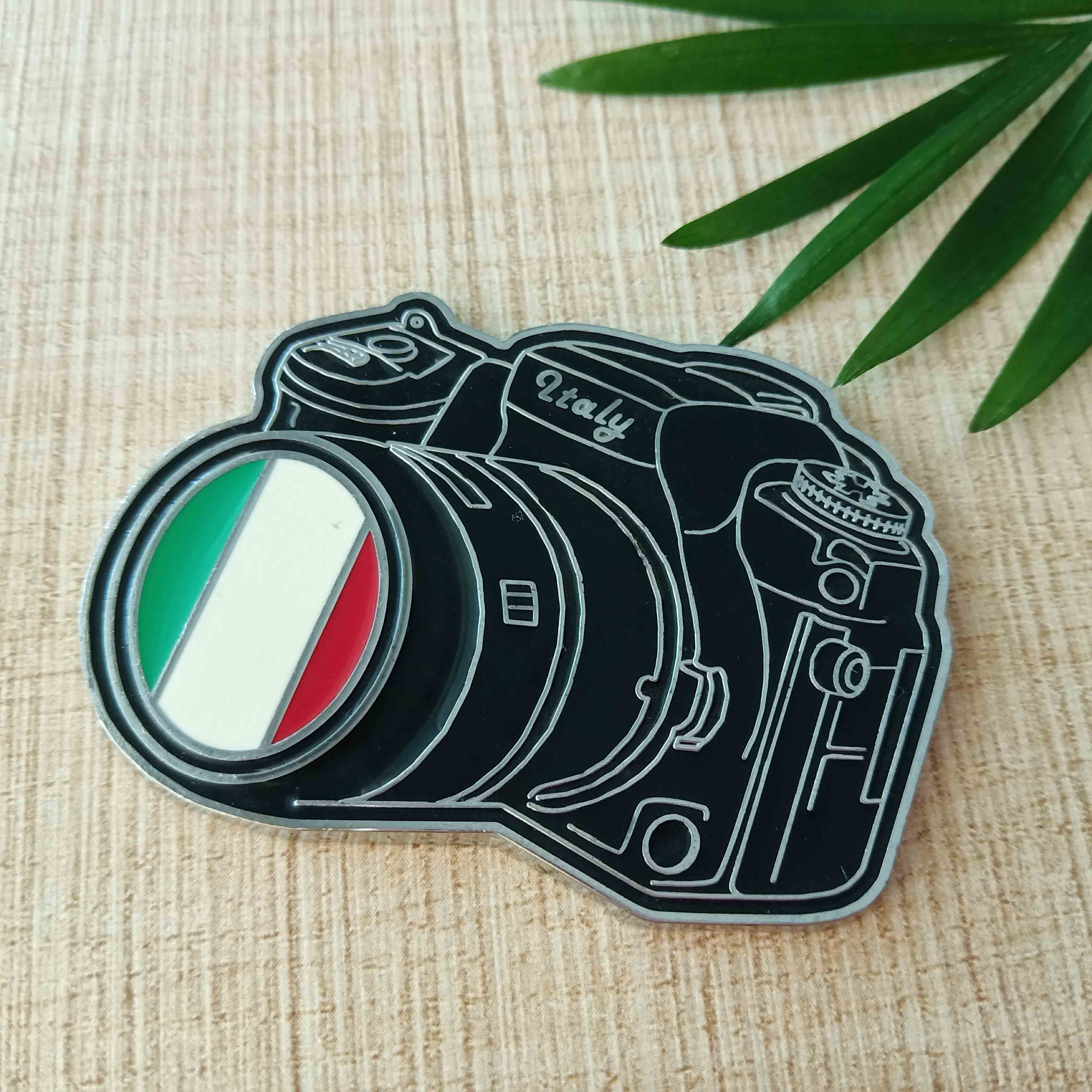 Custom metal us states fridge magnet camera