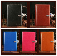 Business Notebook with 8000 mAh Power Bank 32G USB PU Leather Notebook High Quality Writing Pad Business Gift Office Supply