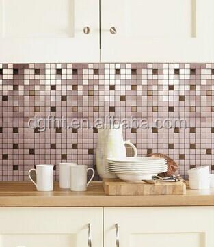 Autoadesivo della parete del pvc bagno impermeabile carta - Adesivi per piastrelle cucina ...