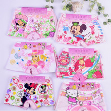 2014 NEW ! Girl's Cotton Underwears/Kid Cartoon Pants/Children Baby Underwear/Girl Cute Boxer Shorts/2-9 Years 12 pcs/lot