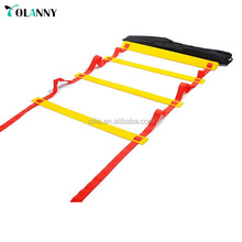 new design discount price basketball training adjustable customized agility ladder