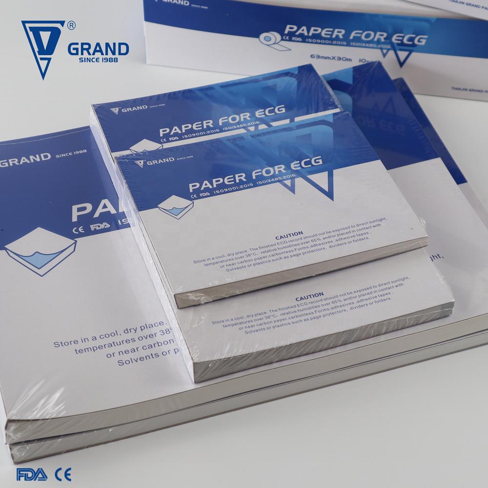 certified z fold ecg paper and ecg rolls