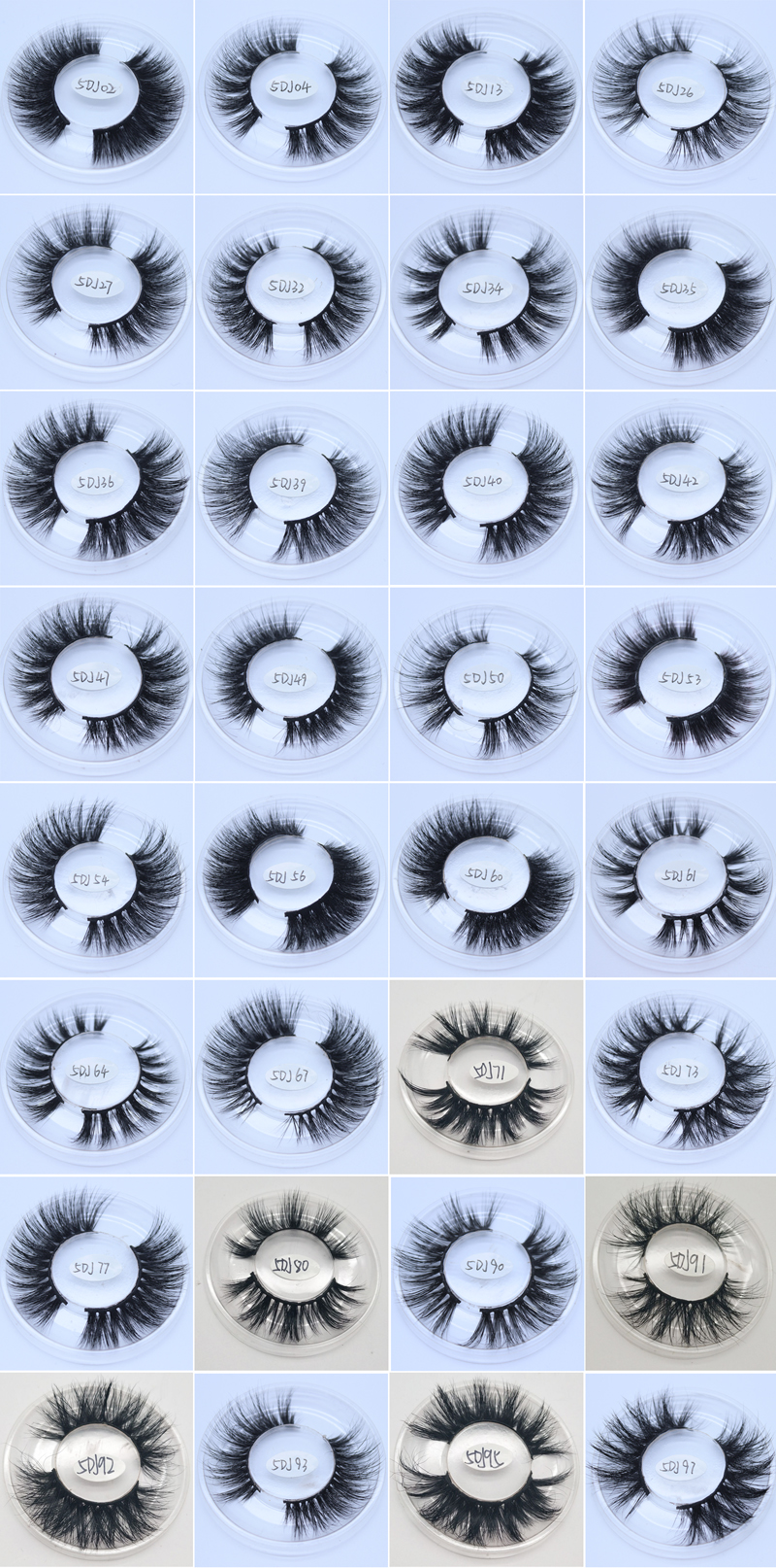 2019 best selling soft long 25mm 3d mink eyelashes private label