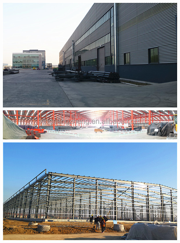 steel frame building quick build warehouse