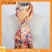 Silk scarf custom digital print and shawl wholesale china