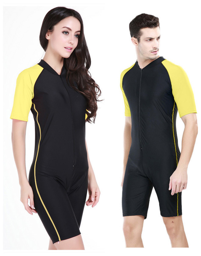 Sbart 2015 New Male and Female One-Piece Triathlon Wet Suit Scuba Diving Suits Lycra Dive Suit Diving Bathing Suits