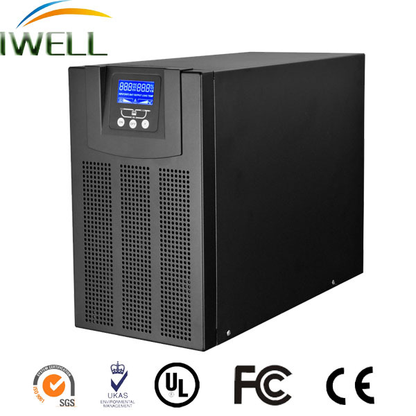 2KVA price of ups system online uninterrupted power supplies inverter AVR with built-in lead acid battery with long time backup
