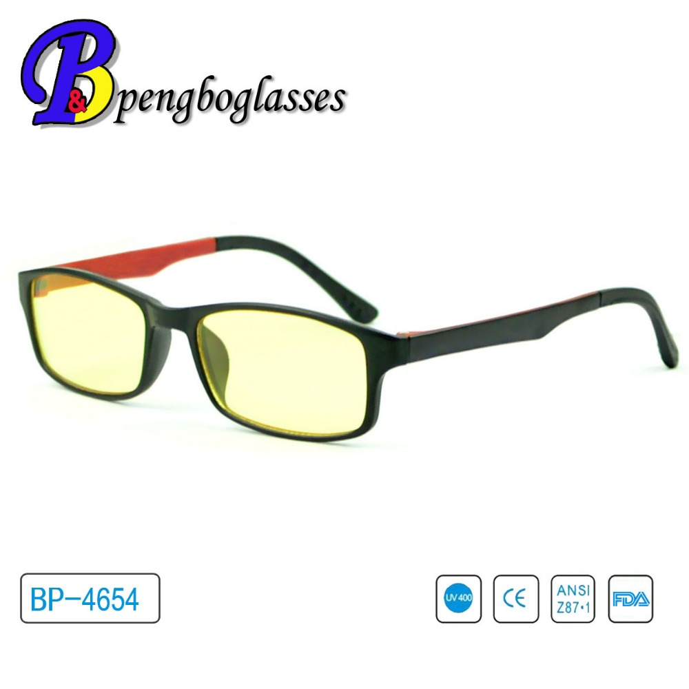 2016 elegante light gafas para bloque de pesas blue light
