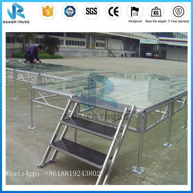 Acrylic Platform <strong>Stage</strong> Swimming Pool Acrylic Glass <strong>Stage</strong>
