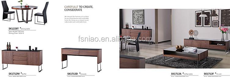 Diseño moderno tocador con espejo muebles de dormitorio A9106-N
