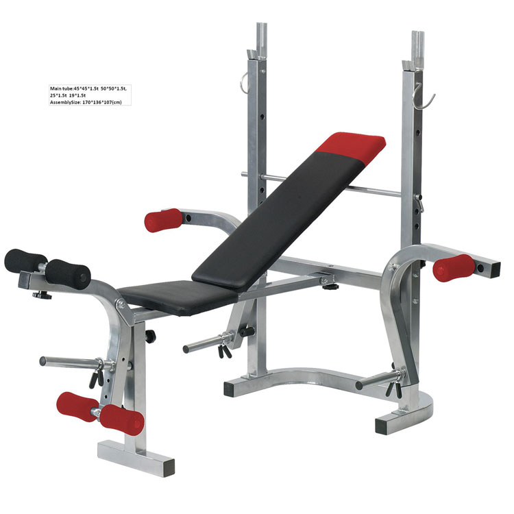 Used Bench Press With Weights Part - 44: Multifunction Weight Bench, Multifunction Weight Bench Suppliers And  Manufacturers At Alibaba.com