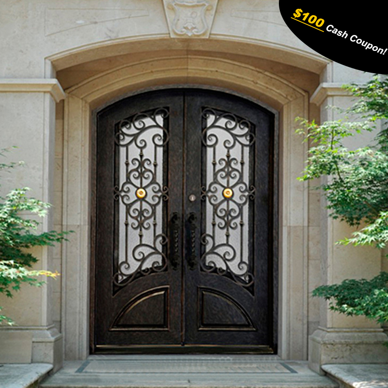 Factory Price Wrought Iron Exterior Entry Doors View Wrought Iron