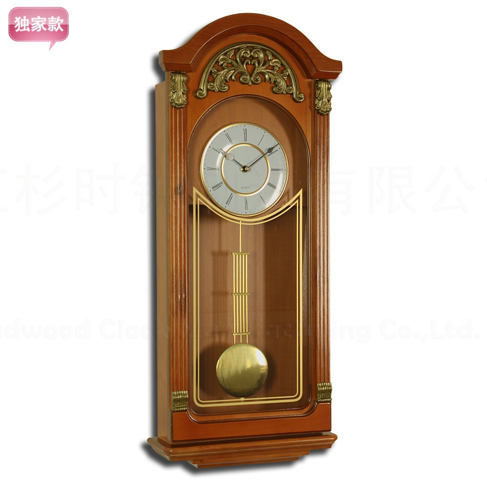 European and American trade exports Wall / Wood Clock / European Pendulum / living room classic fashion wall clock / RQ502