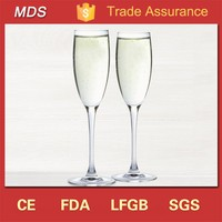 Glassware unique fancy champagne wedding toasting flutes