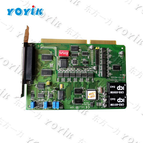 DEC excitation system components ISO-AD32 A/D transducer card