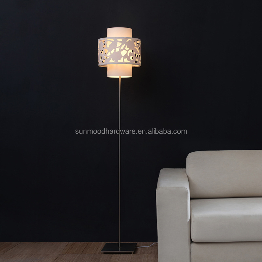 Creative three-dimensional carved floor lamp living room European floor lamp bedroom modern simple bedside lamp