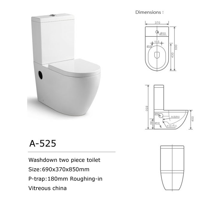 Australian Standards Bathroom Design Ceramic Toilet P Trap S Trap Two Washdown Toilet Buy