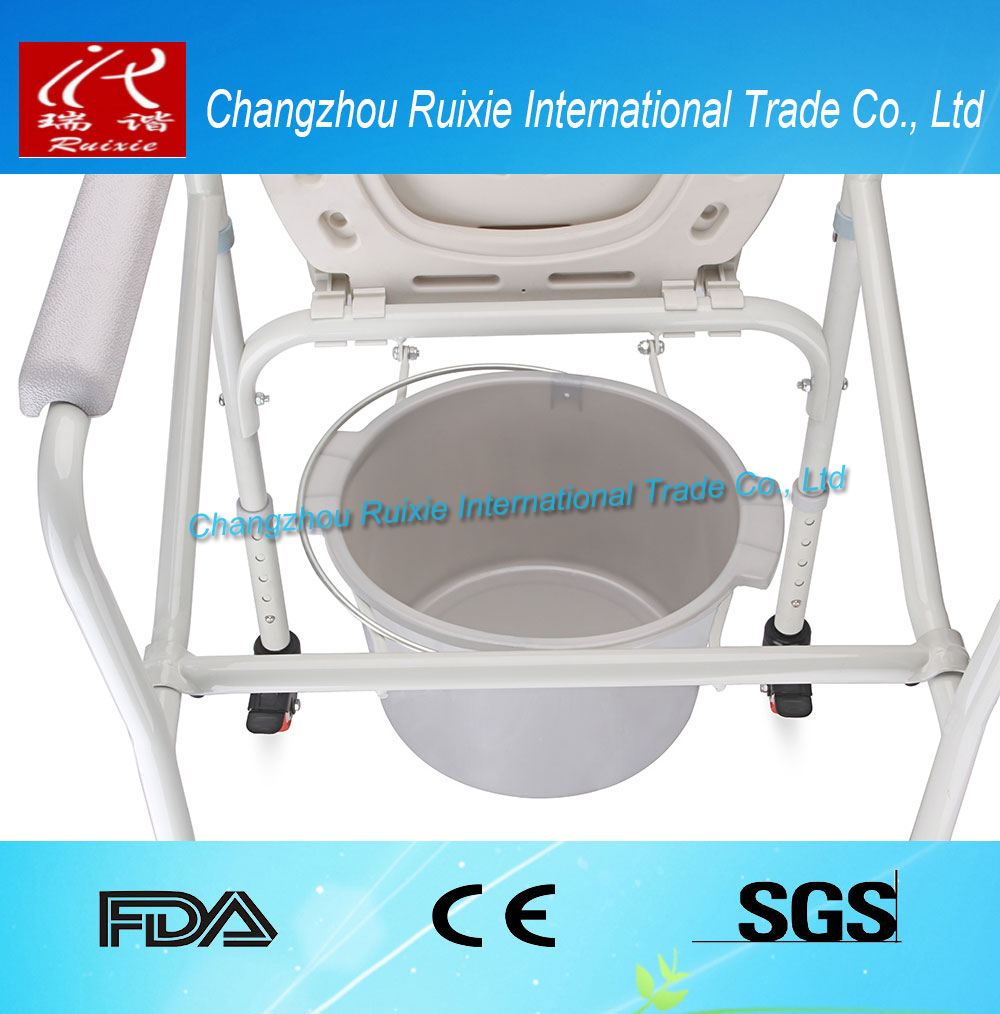 Portable commode folding bedside handicap adult toilet potty chair - Portable Toilet Chair Portable Toilet Chair Suppliers And Manufacturers At Alibaba Com