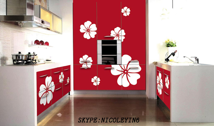 2015 Latest Painted Kitchen Cabinet Color Combinations