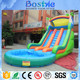 0.55mm plato PVC Tarpaulin Outdoor Inflatable Mini Cheap Water Slide For Hot Sale