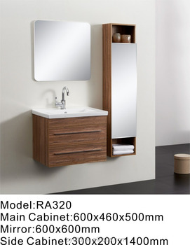 Royo Vanity Sanitary Ware Waterproof Hotel Bathroom Cabinets And Furniture With Basin Ra320
