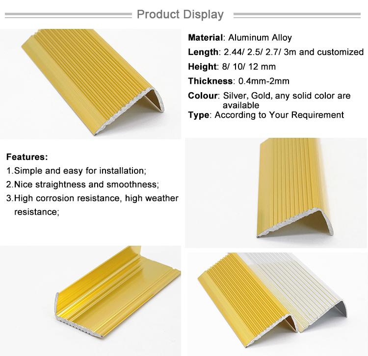 Anti Slip Step Ceramic Tile Stair Nosing