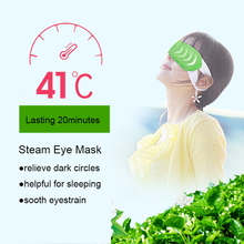 Average Temperature 40 Degree Instant Heating Magic Cute Best Eye Mask With Warm Steam