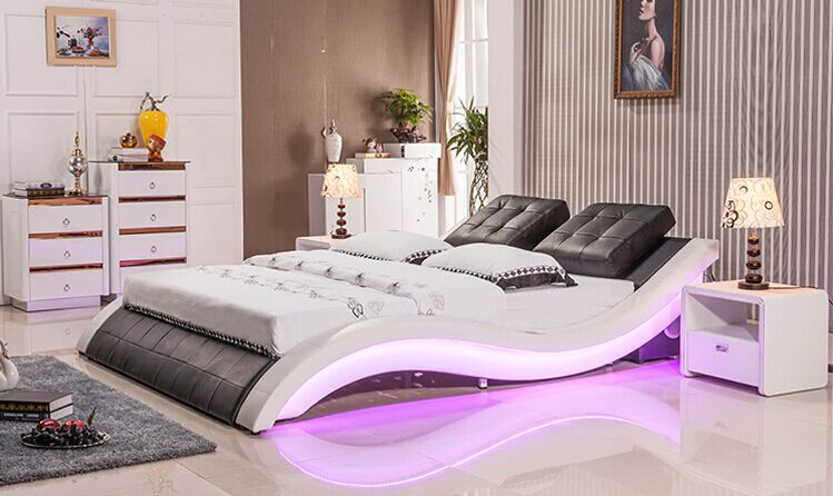 Sexy Beds Amazing A0211 Nice Design Hot Sale Sexy Modern Led Bed  Buy Led Bedsexy Review