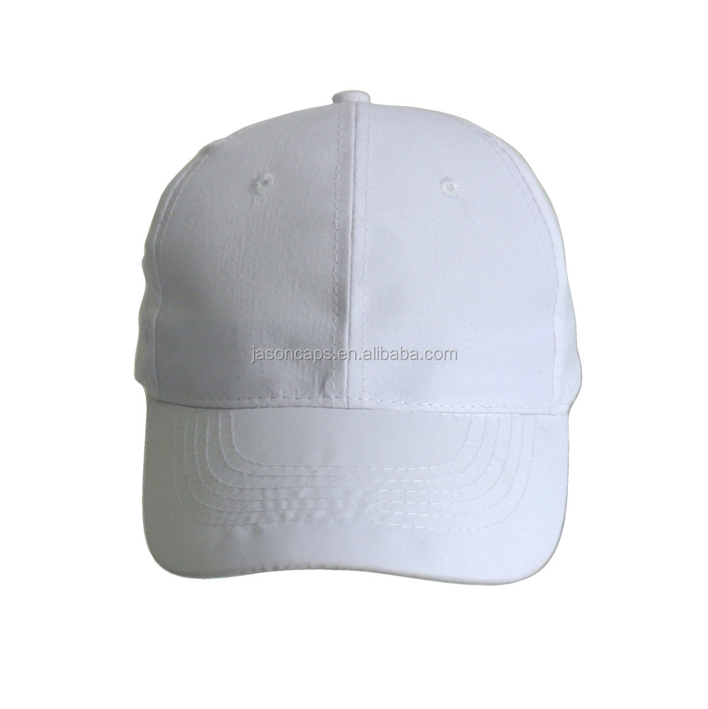 100% cotton fabric 6 panel cotton head cap hat