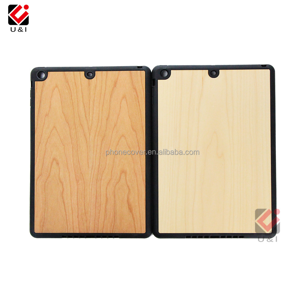 Protective Phone Blank Wooden Pattern Back Case Cover for <strong>iPad</strong> Custom engraving printting Mobile Phone Shell for <strong>iPad</strong>
