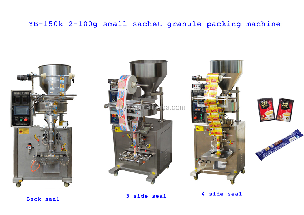Vertical chips Packing machine YB-300LD  500g Multihead Weigher automatic granule packaging machine