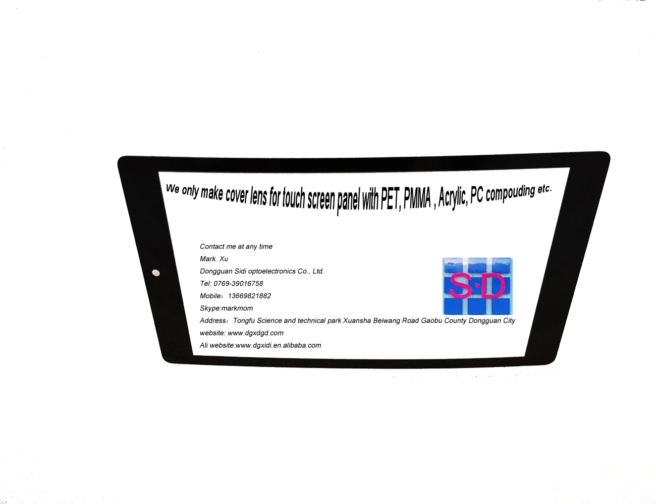 PET cover lens 15 Inch PCAP Capacitieve Multi Touch Screen Vervanging voor Industriële controle
