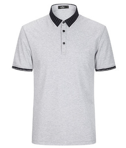 mens polo shirt with 3 buttons