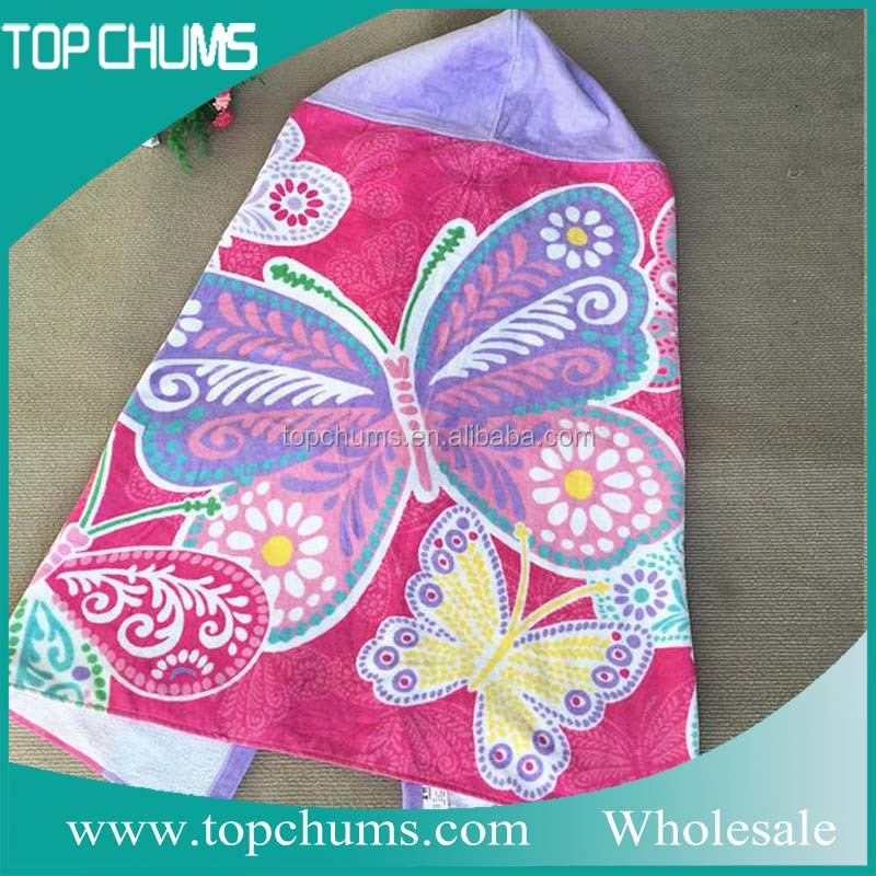 Good quality 100% cotton bath hooded towel baby
