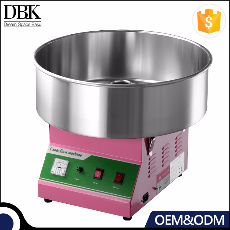DBK Commercial electric candy floss machine/ electric cotton candy machine