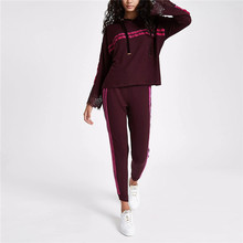 Womens casual hoodie sport active langarm crop top pullover hoodies