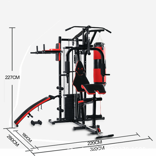 HANGZHOU BIGBANG Home Exercise Bike Trainer Rack Pull Up Bar Gym Equipment