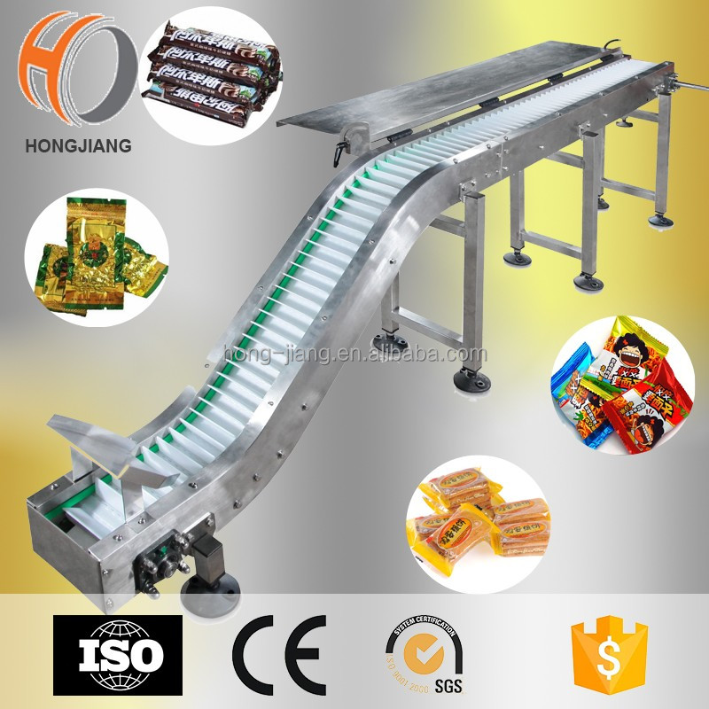 H5935 Modular Z shape Food Industry inclined modular Belt Conveyor with cleats