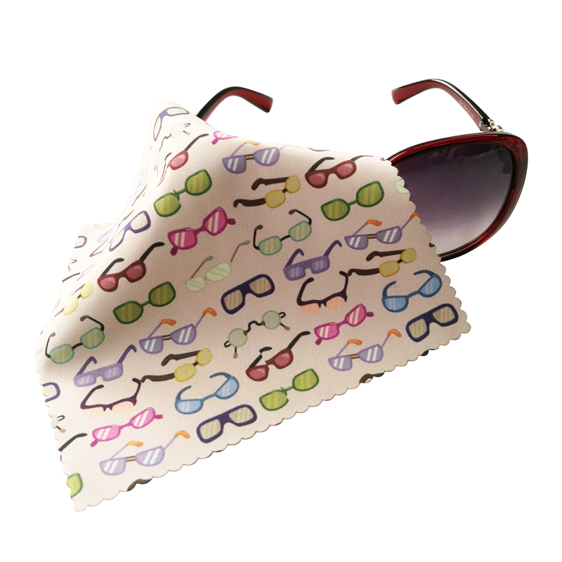 Microfiber Cloth Eyeglasses: Premium Personalized Eyeglasses Microfiber Cleaning Cloth