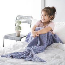 Comfortable new design Mermaid Tail Blanket Child Size Exported to Worldwide