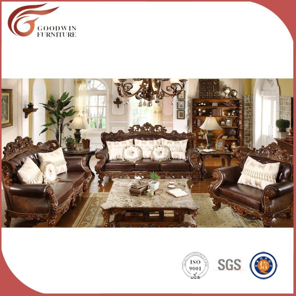 Antique style élégant bois massif plantation meubles de maison ...