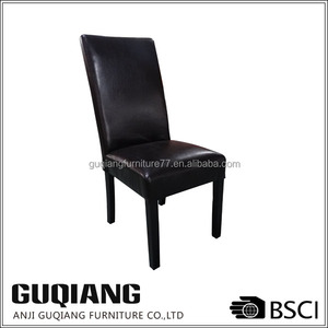 Air PU Leather Wooden Modern Dining Chair In Brief European Luxury Regal Style,Antique Chair Dining